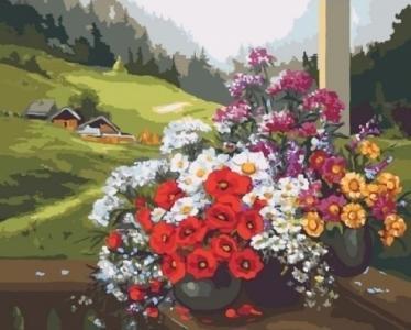 Картины по номерам Родной край