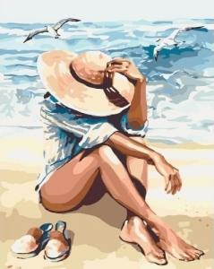Картины по номерам Под пьянящим солнцем