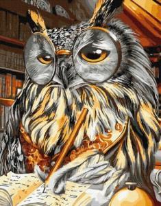 Картины по номерам Мудра сова
