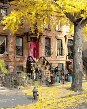 Картины по номерам Осень в Бруклине