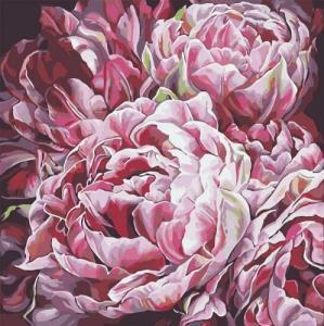 Картины по номерам Буйство цветов 2
