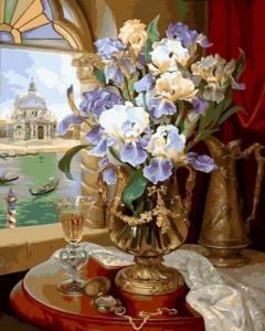 Картины по номерам Венецианские ирисы