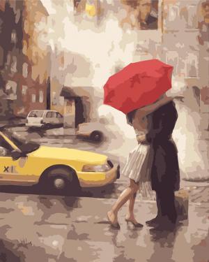 Картины по номерам Любовь в Нью-Йорке
