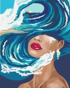 Картины по номерам Океан мыслей