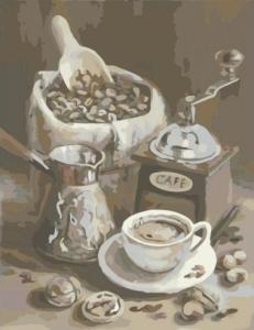 Картины по номерам Утренний кофе