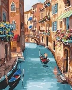 Картины по номерам Солнечная Венеция