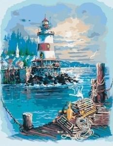 Картины по номерам Тихая гавань