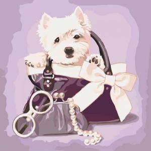 Картины по номерам Любимый щенок