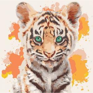 Картины по номерам Тигрюля