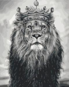 Картины по номерам Король Лев