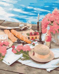 Картины по номерам Пикник рядом с морем