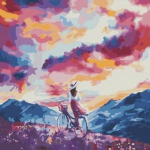 Картины по номерам Дыхание ветра