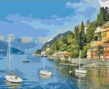 Картины по номерам Прибрежный отдых