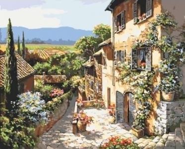 Картины по номерам Пейзажи Тосканы