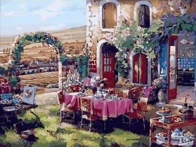 Картины по номерам Жизнь в Провансе