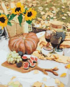 Картины по номерам Осенний пикник