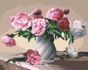 Картины по номерам Цветы любви