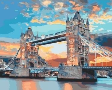 Картины по номерам Лондонский мост