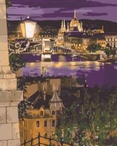 Картины по номерам Магические краски Будапешта