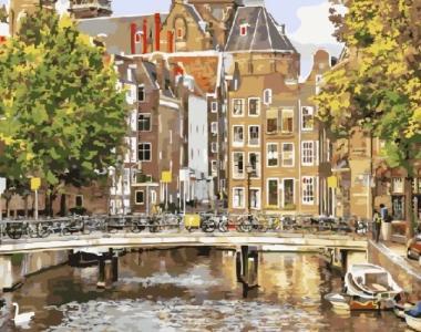 Картины по номерам Старый Амстердам