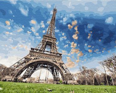 Картины по номерам Небо Парижа