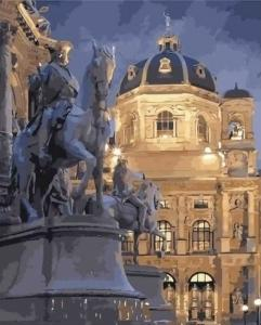 Картины по номерам Вена в ночи