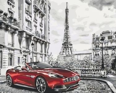 Картины по номерам Утро в Париже