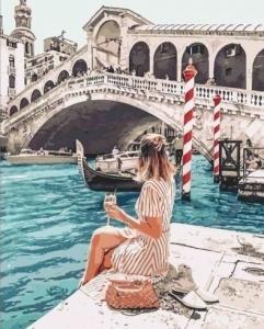 Картины по номерам Влюбленная в Венецию