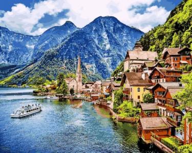Картины по номерам Летняя Австрия