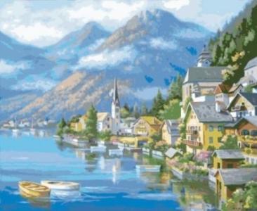 Картины по номерам Австрийский пейзаж