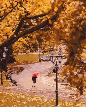 Картины по номерам Осінній парк