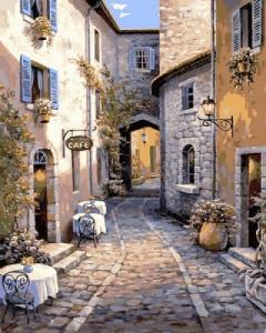 Картины по номерам Итальянский дворик