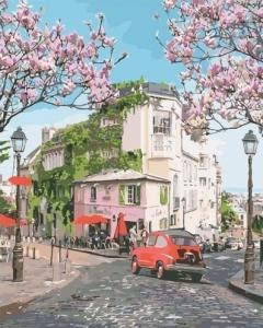 Картины по номерам Французское путешествие