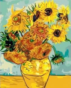Картины по номерам Подсолнухи Ван Гог