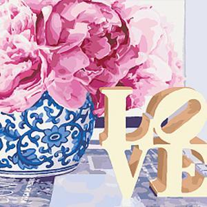 Картины по номерам Love