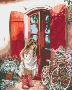 Картины по номерам Маленькая принцесса