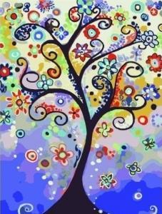 Картины по номерам Дерево мечты
