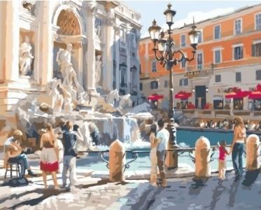 Картины по номерам Европейские каникулы