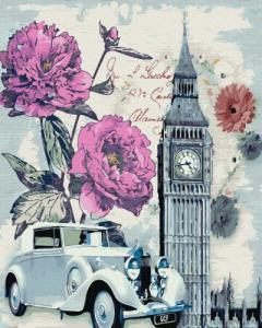 Картины по номерам Винтажный Лондон