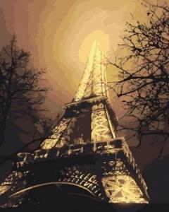 Картины по номерам В красках ночного города
