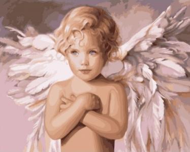 Картины по номерам Ангел удачи