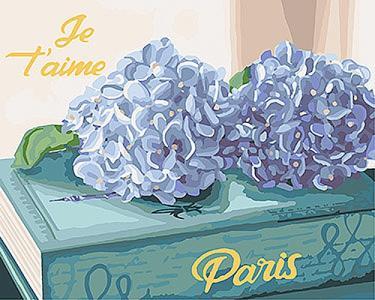 Картины по номерам Любимый Париж