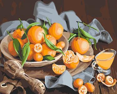 Картины по номерам Оранжевое наслаждение
