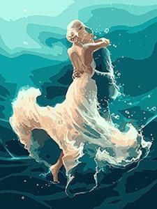 Картины по номерам На волне танца
