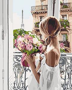 Картины по номерам Из Парижа с любовью
