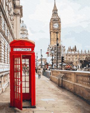 Картины по номерам Символы Лондона