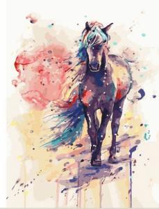 Картины по номерам Фантастическая лошадь