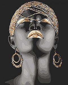 Картины по номерам Африканская принцесса