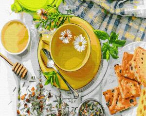 Картины по номерам Медовий сніданок