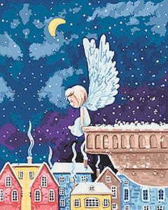 Картины по номерам Ангелочек 2